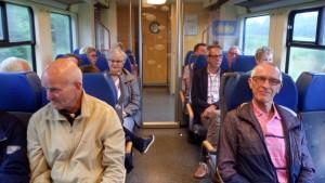 allemaal braaf in de trein