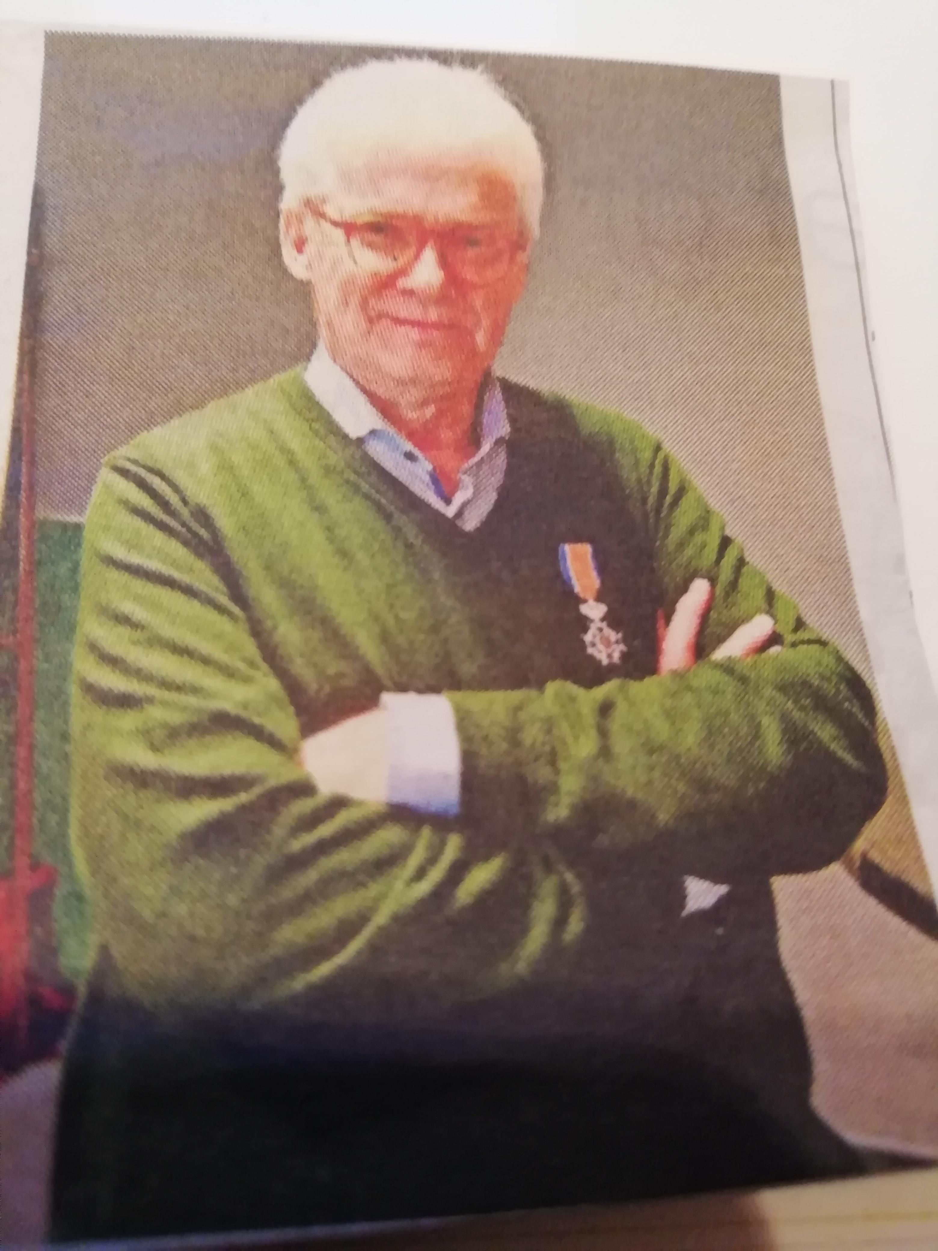 Koninklijke onderscheiding voor Herman Clevis