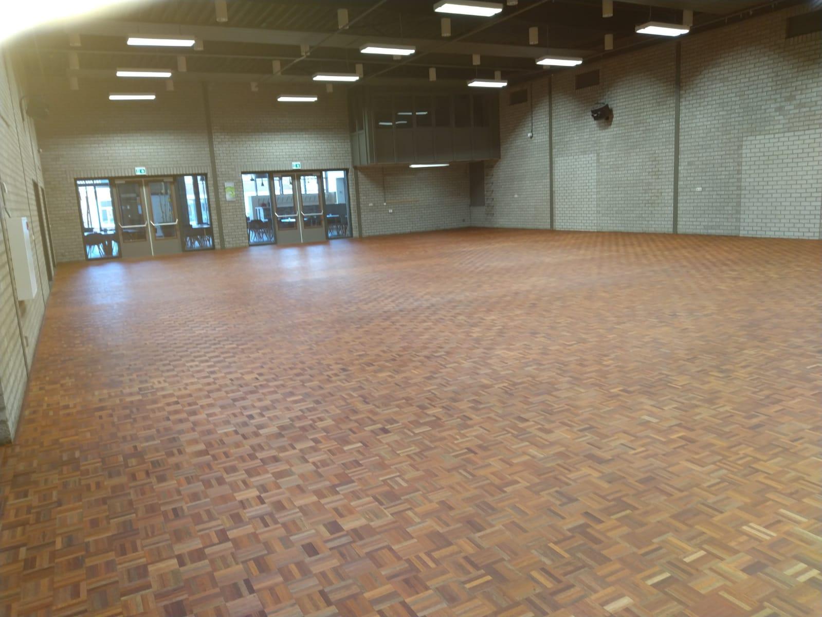 Vernieuwde vloer